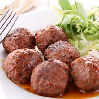 Teriyaki Meatballs.