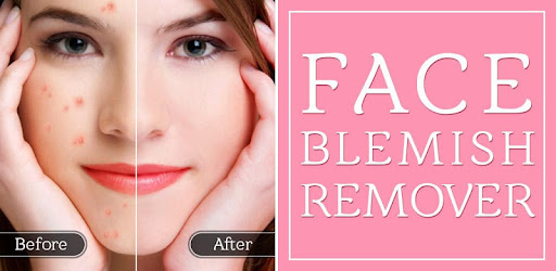 Removing facial blemishes phrase, simply