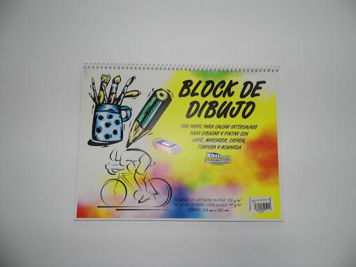 block dibujo espiral alpha