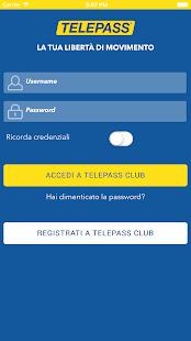Telepass Screenshot 2