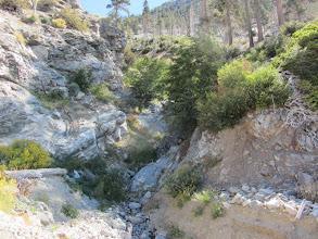 Photo: Road washout at Snowslide Canyon