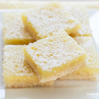 Lemon Bars - Gluten Free