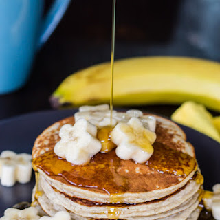 Banana Protein Pancakes {gluten Free & Grain Free}