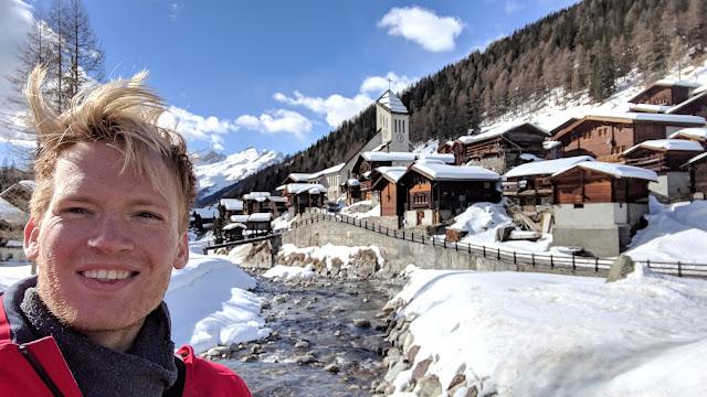 Blatten in Lötschental, Valais, Switzerland