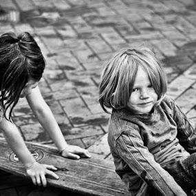 Joy of Youth by Graeme Carlisle - Babies & Children Children Candids ( playing, kids, skateboard, boy )
