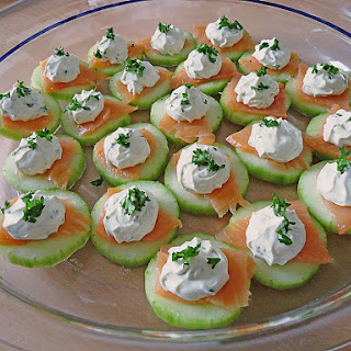 Cucumber Salmon Appetizer – German Party Food