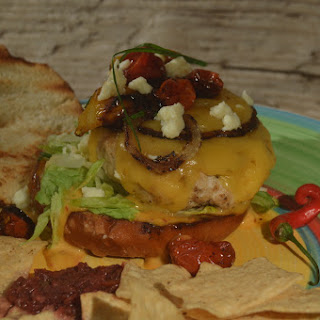 Smoky Chipotle Turkey Burgers with Leyden