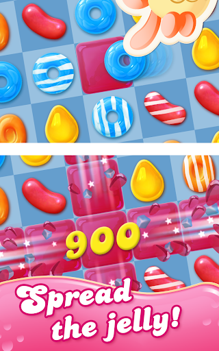 Candy Crush Jelly Saga game (apk) free download for Android/PC/Windows screenshot