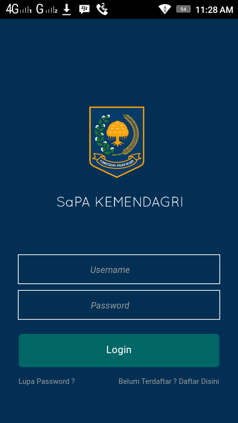 SaPA Kemendagri- screenshot
