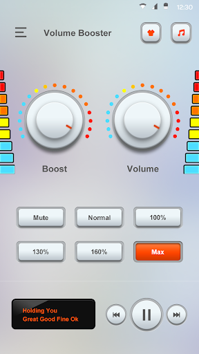 Volume Booster PRO - Sound Booster for Android 4.5.2 screenshots 3