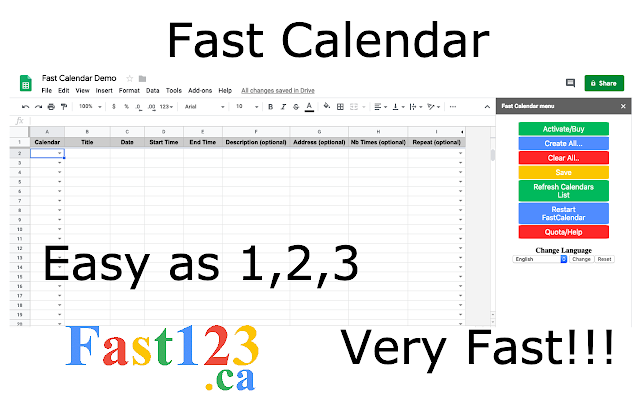 Fast Calendar   G Suite Marketplace