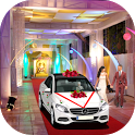 Luxury Wedding City Car Driving icon