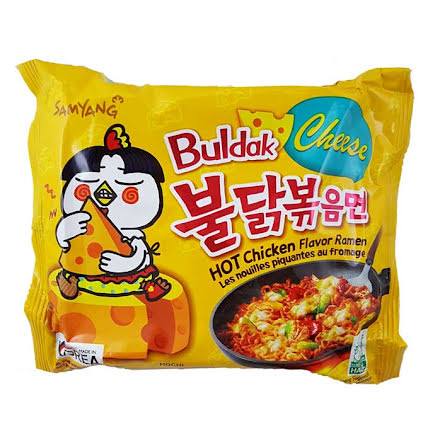Hot Chicken Ramen Cheese 140g Samyang