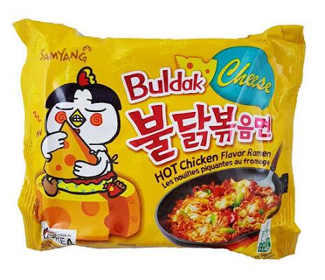 Hot Chicken Ramen Cheese 140g Samyang