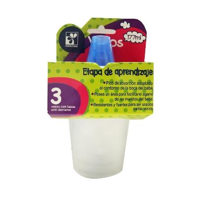 farmatodo vaso c/ tapa antider x3 177ml