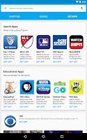 Screenshot of Chromecast