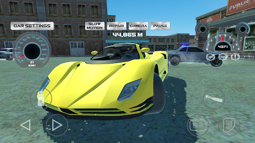 Super Sport Car Simulator  screenshots 7