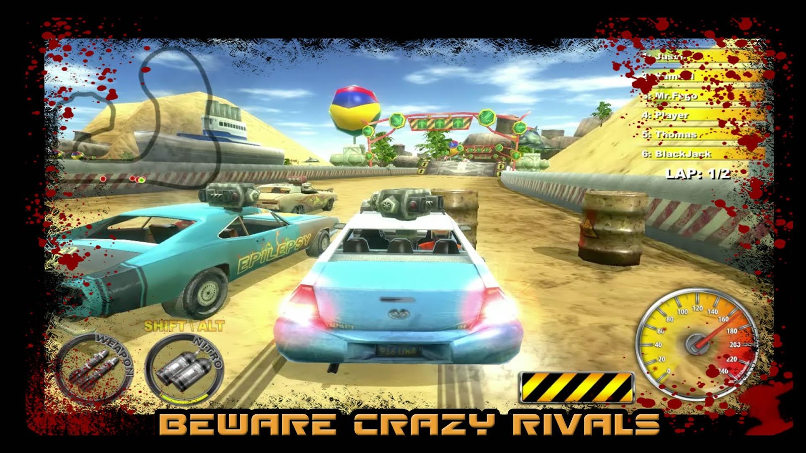 Lethal Death Race- screenshot