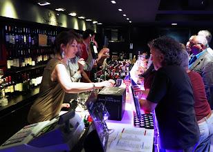 Photo: Villa Malbec wine sampling bar, Cahors