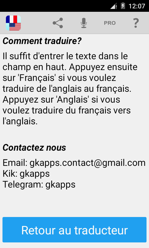 traducteur fran u00e7ais anglais  u2013 applications android sur google play