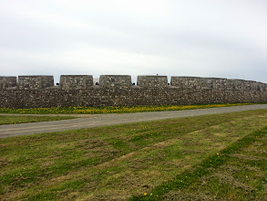 Photo: Battlements with cannon.