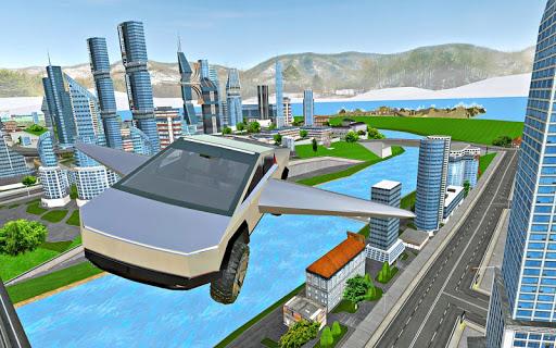 Modern Sports Flying SUV : Driving Simulator ss2