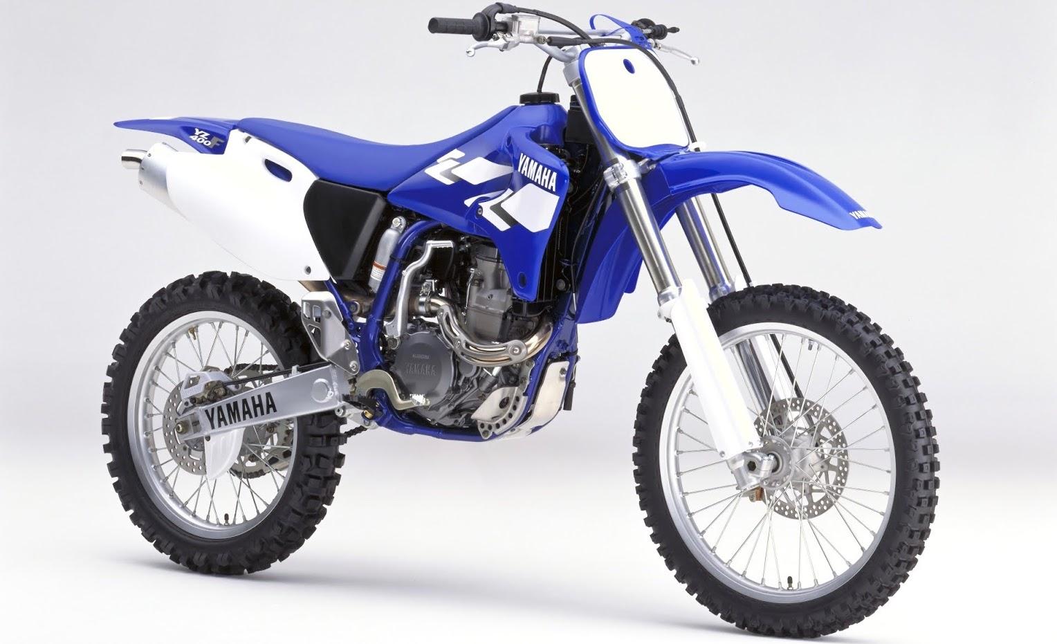 Yamaha YZ 400 F-manual-taller-despiece-mecanica