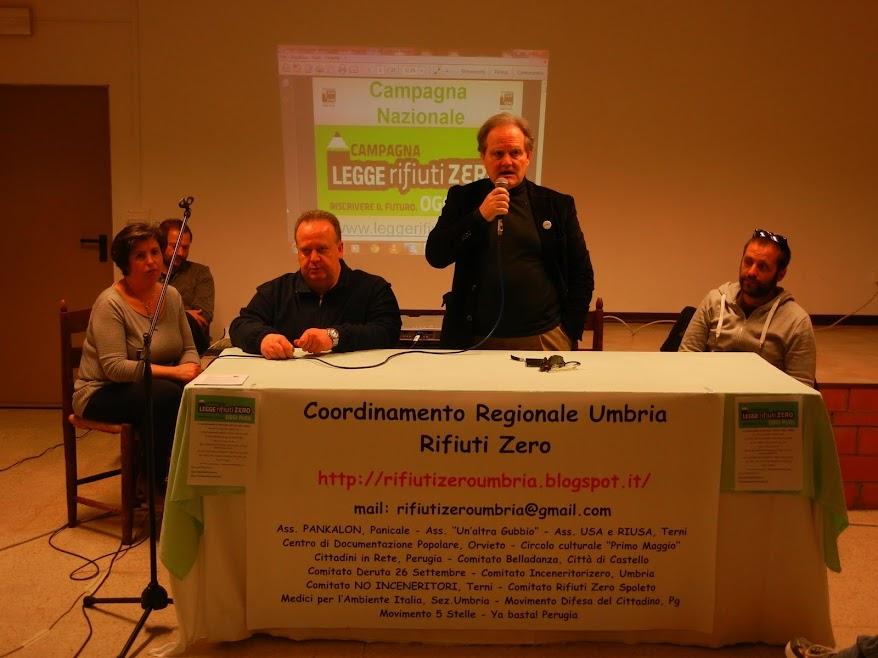 CAMPAGNA NAZIONALE LEGGE DI INIZIATIVA POPOLARE 'RIFIUTI ZERO' - DERUTA 09 MARZO 2013