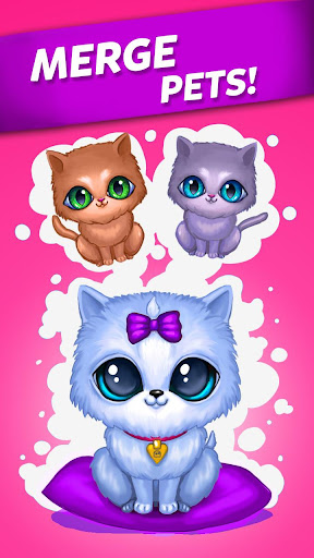 Merge Cute Animals: Cat & Dog 1.0.94 screenshots 1