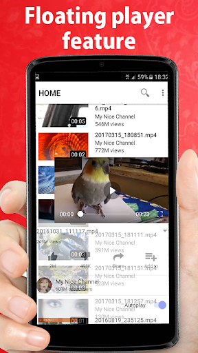 Video player for youtube 5.0 screenshots 3