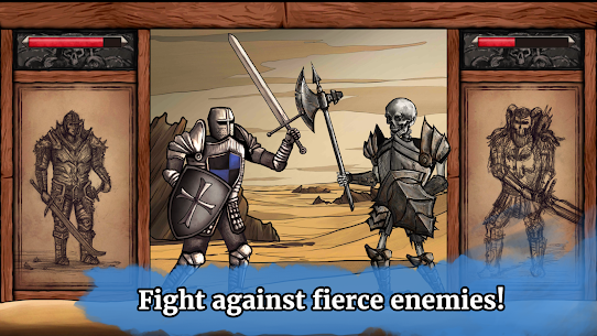 The Paladin's Story: Melee & Text RPG (Offline) Mod Apk Download For Android and Iphone 2