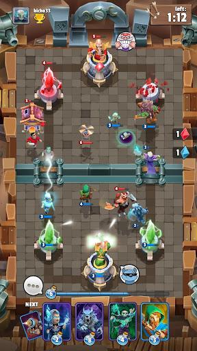 Code Triche Clash of Wizards - Battle Royale APK MOD screenshots 6