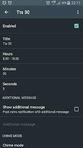 Hourly chime PRO v5.5.3 [Patched] APK 2