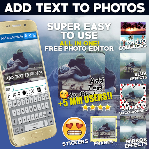 Add Text to Photo App (2018) 32.0 screenshots 1