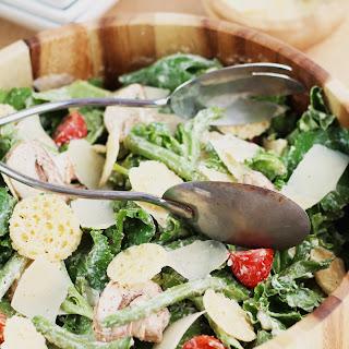 Skinny Kale Caesar Salad