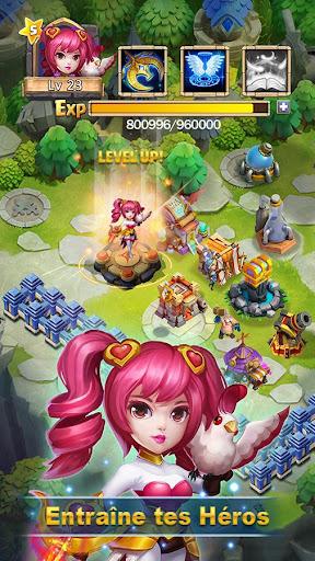 Castle Clash : RPG Guerre et Stratu00e9gie FR  captures d'u00e9cran 2
