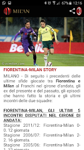 A.C. Milan- screenshot thumbnail