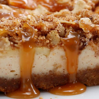 Caramel Apple Cheesecake.
