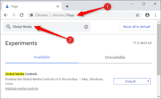How to Enable a Play/Pause Button on Chrome's Toolbar