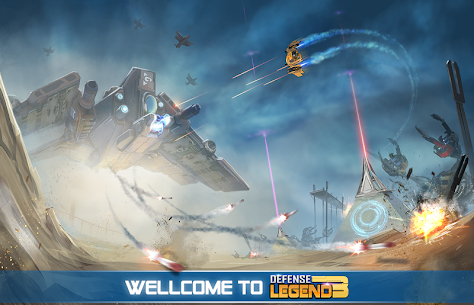 Defense Legend 3 MOD: Future War (Unlimited Money) 1