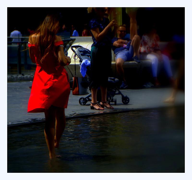 l'elegante in red di fabryfoto