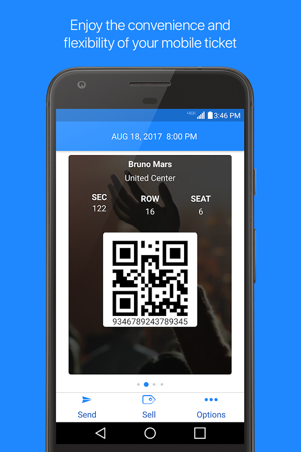 TicketFire Ticket Scanner- screenshot