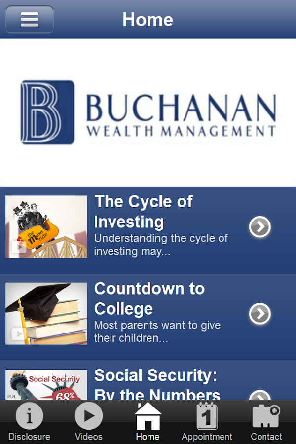 Buchanan Wealth Management- screenshot