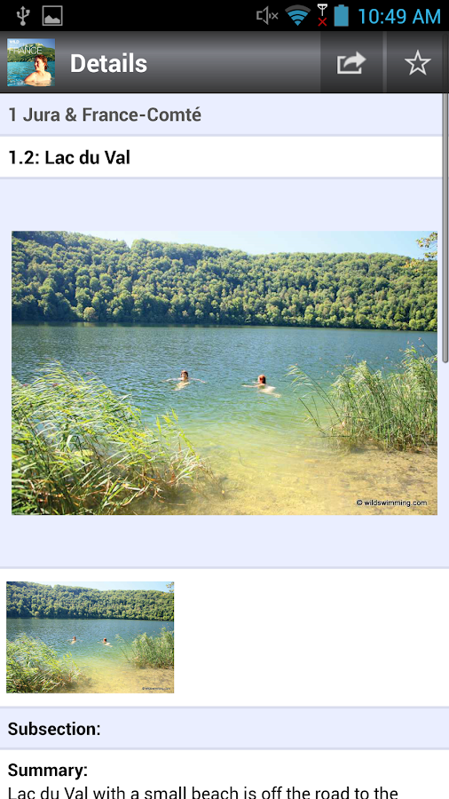 Wild Swimming France- screenshot