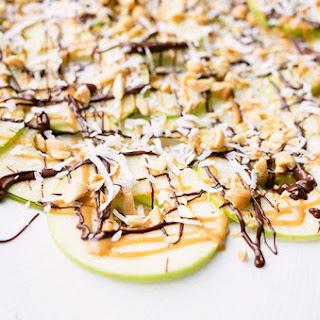 Peanut Butter Apple Nachos
