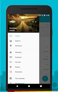 Drivvo – Car management / Gas log / Mileage Log- screenshot thumbnail