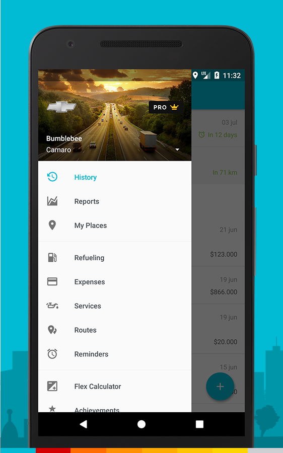 Drivvo – Car management, Fuel log, Find Cheap Gas Screenshot 3
