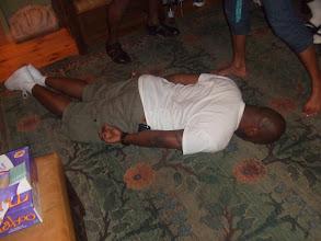 Photo: Rashid planking