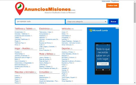 Anuncios Misiones screenshot 5