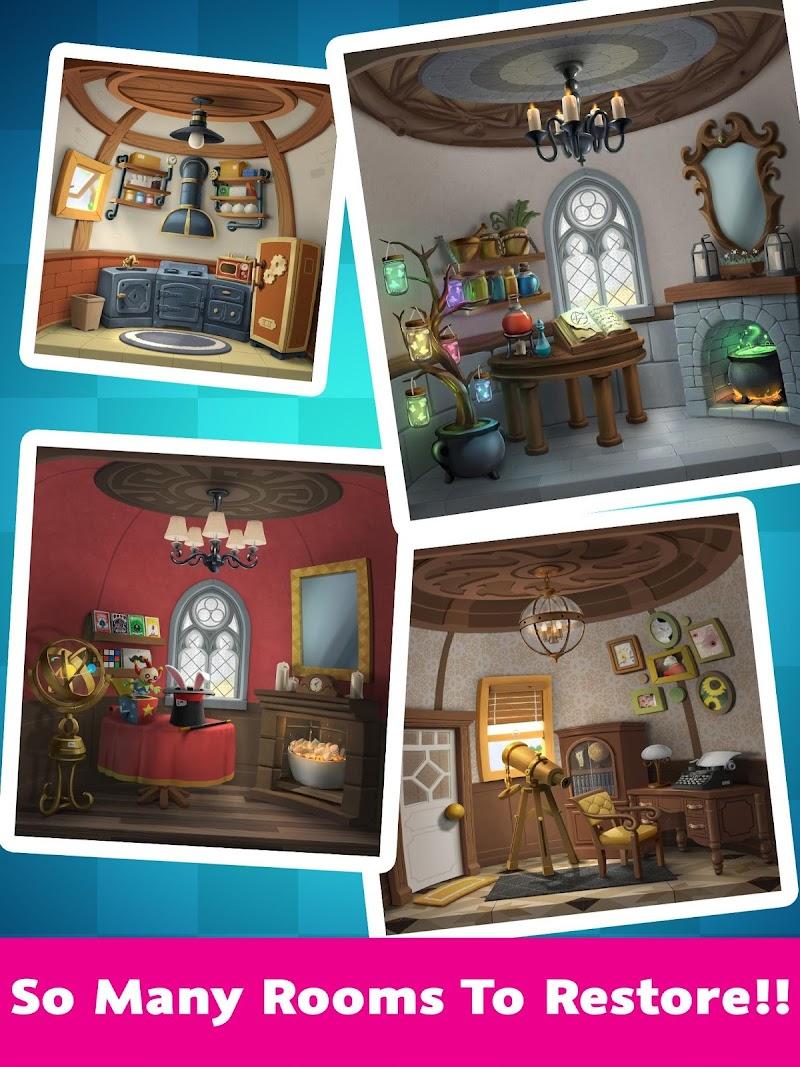 Cat Home Design: Decorate Cute Magic Kitty Mansion Screenshot 3